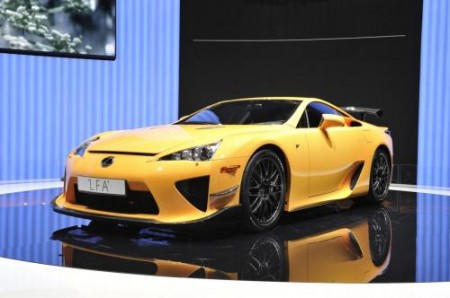 Lexus LFA Nurburgring pack al Salone di Ginevra 2011